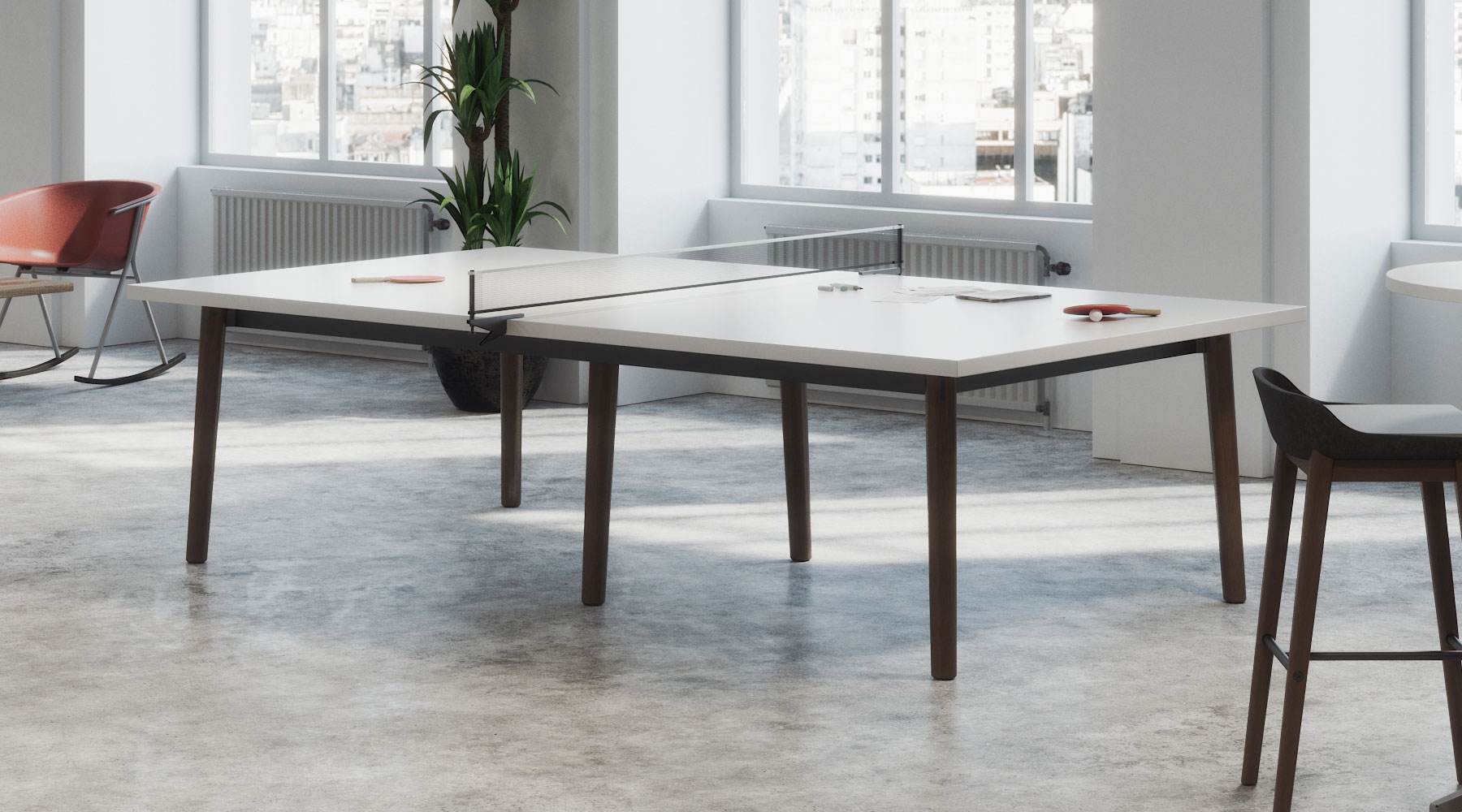 Roqa and Voodoo Ping Pong Table